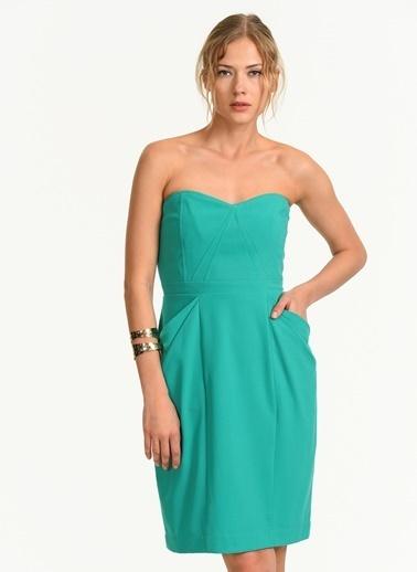 BcbgMaxAzria Elbise Sarı
